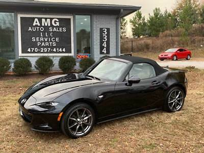 2016 MX-5 Miata Grand Touring 2dr Convertible 6A 2016 Mazda MX-5 Miata Grand Touring 2dr Convertible 6A 9,973 Miles Black Convert