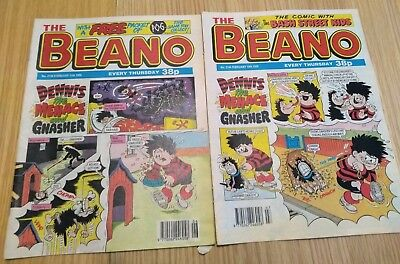 Beano comics 1995 - 2 issues for sale