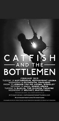 Catfish and the Bottlemen Tickets -  Nottingham Arena -2 Standing