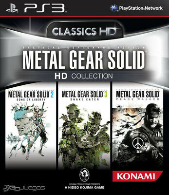 metal gear solid hd collection para PS3