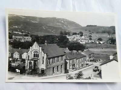 1956 Postcard Sized Photo of Flo Marsden's House Settle Yorkshire.