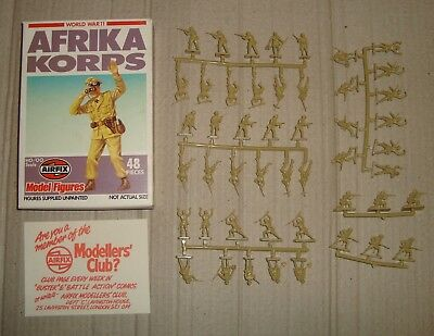 Airfix 01711-6 S11 1/72 Ho/oo World War 11 Afrika Korps 1980