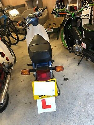 X Regd Honda C90 In Blue With Mot,purchased To Do A Charity Ride,so Now For Sale