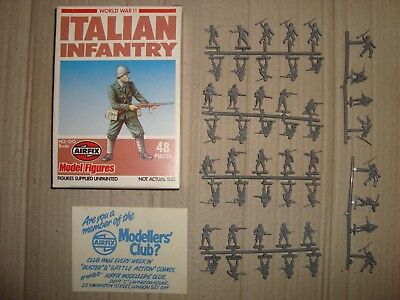Airfix 01757-2 S57 1/72 Ho/oo World War 11 Italian Infantry 1980