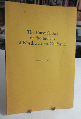 American Indian Book, The Carver's Art of the Indians of Northwestern California