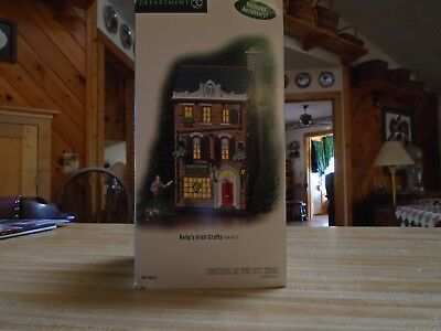 Dept. 56 Christmas in the City - Kelly's Irish Crafts which come with accessory