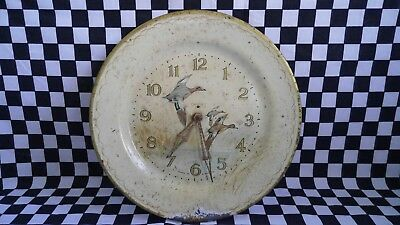 Vintage Smiths duck clock Made in Great Britain Spares or Repair