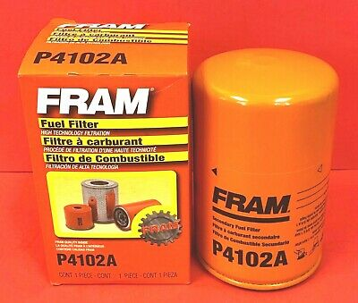 fuel filter fram p4102a for chevrolet,ford,freightliner,gmc,hino,kenworth