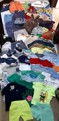 Huge Bundle Of Baby Boy Clothes 9-12months #608 NEXT GEORGE F &F MOTHERCARE