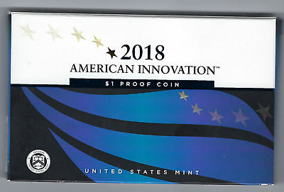 USA: American Innovation 1 Dollar Proof Coin 2018, Mint S