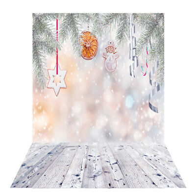 Andoer 1.5 * 2m Photography Background Backdrop Digital Printing Christmas H3K9