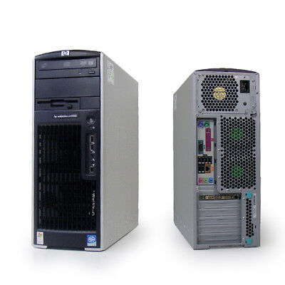 HP XW6400 Workstation 2 x Xeon 5140 @ 2.33 GHZ 80GB 4GB Dual Graphics