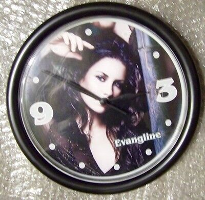 """Evangeline Lily 9"""" - Wall Mount Clock - Abc Lost & Ant-Man & The Wasp"""