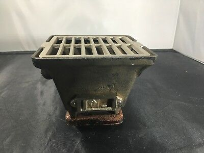 Vintage Japanese Cast Iron Mini Hibachi Stove BBQ Grill Table Top Personal Grill