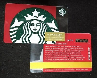 Starbucks 2018 Christmas Siren Holiday Mermaid Limited Edition Gift Card