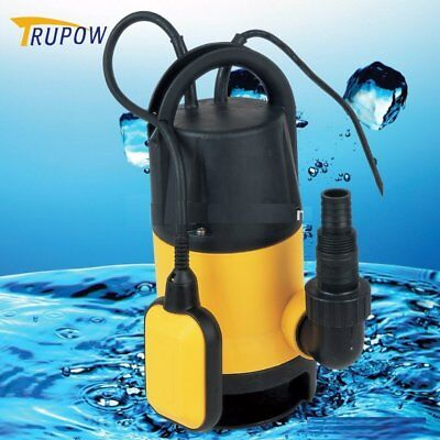 New Electric Submersible Pump for Clean Dirty Flood Water 750W