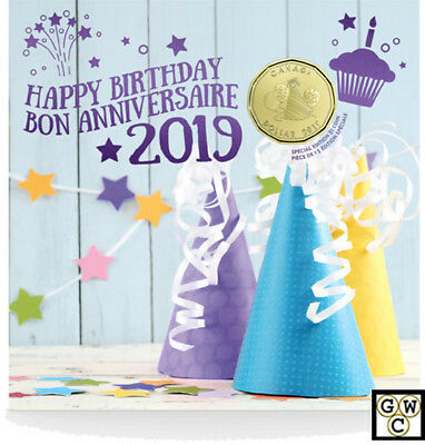 2019 Birthday Gift Set of Coins (18675)