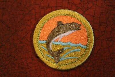 """Bsa """"fishing"""" Merit Badge - Official Boy Scouts"""