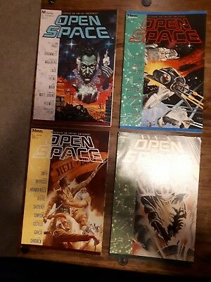 Open Space #1-4 Comic Book Marvel 1989
