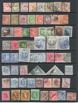 Commonwealth Stamps Queen Victoria to King George V Used See Scans C2