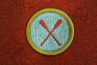 """Bsa """"canoeing"""" Merit Badge - Official Boy Scouts"""