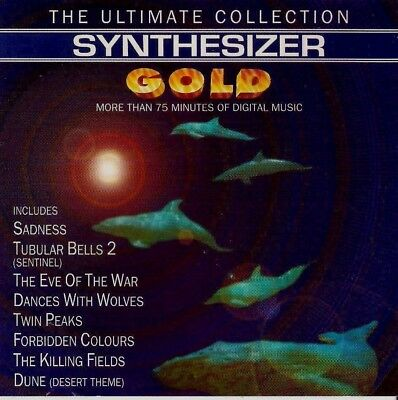 SYNTHESIZER  The Ultimate Synthesizer Gold   ( 18 Great Tracks )