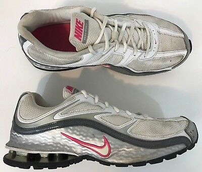 a14b3f6c607 Women s NIKE REAX RUN 5 Running Shoes SIZE 11 US 43 EU 407987 White Silver