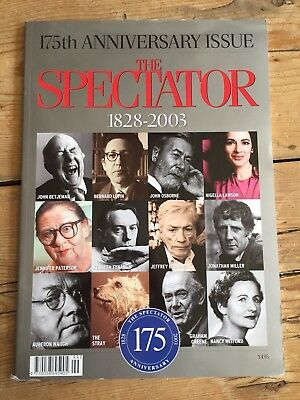 The Spectator 175th Anniversary Issue 1928 - 2003