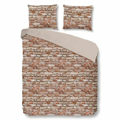Good Morning Housse de couette 5276-A BRICK 240x200/220cm Multicolore