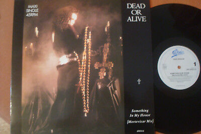 """Dead Or Alive - Something In My House - 12"""" Maxi !!!"""