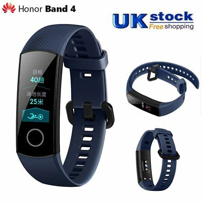 Huawei Honor band 4 Smart Watch Wristband AMOLED Touch screen Bluetooth Blue ET