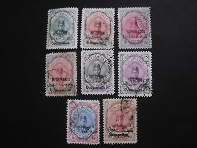 Persia/Persien/Perse/Persian/Middle East 1915, Bushire 1x Mint and 7x Used
