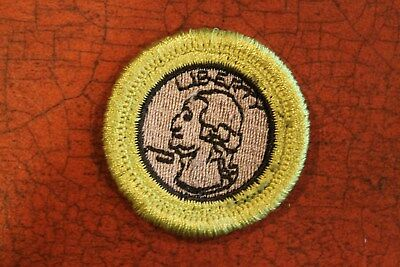 """BSA """"COIN COLLECTING"""" MERIT BADGE - OFFICIAL BOY SCOUTS Vintage"""