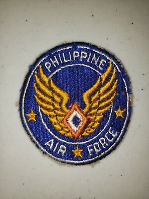 WW2 Philippine Air Force Shoulder Sleeve Patch