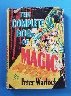 -RARE- The Complete Book of Magic By Peter Warlock