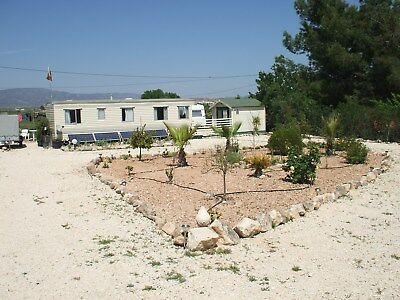 Beautiful Mobilehome and Caravan in Pinoso Spain,on it's own Site