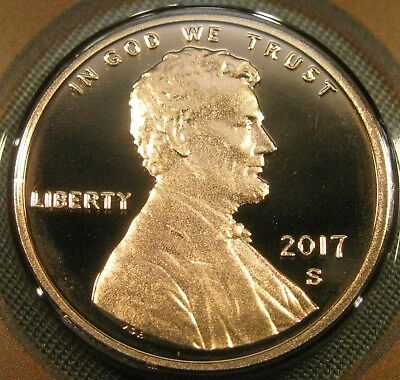 2017 S Lincoln Shield Cent Deep Cameo Proof Coin