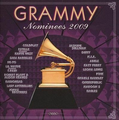 FREE US SHIP. on ANY 3+ CDs! ~Used,Good CD Various Artists: 2009 Grammy Nominees