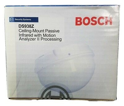 Bosch DS938Z Ceiling Mount Passive Infrared With Motion Analyzer II Processing