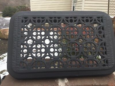 Architectural Salvage Steel Grate