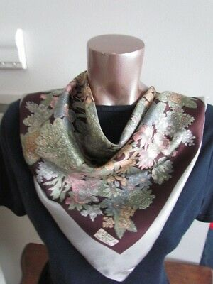 Liberty of London Vintage Silk Scarf Lot Floral Abstract French Connection New