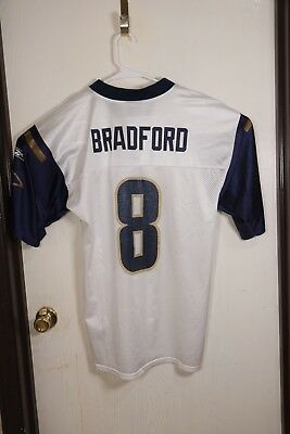 4bbbacd8 Reebok St Louis Los Angeles Rams Sam Bradford jersey, NFL Apparel, size  Large