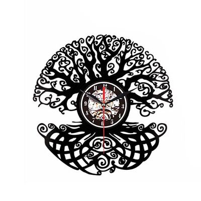 Vinyl Wall Clock Vinyl Record Creative Wall Clock - Big Tree GB-&