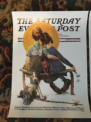 Saturday Evening Post APRIL 24, 1926  (REPRINT) Norman Rockwell (COVER ONLY)