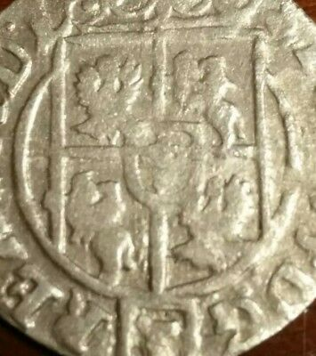 The 1623 SILVER Coin Ancient Pirate Shipwreck Treasure Chest Era Old Vintage US