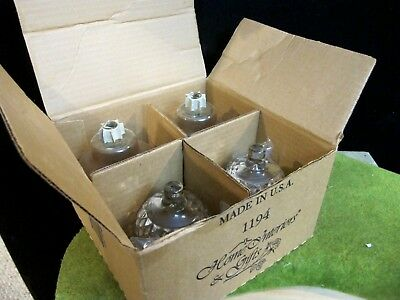 "Cathedral Diamond Votive Cup Candle Holder 4 1/2"" Homco Home Interiors Set of 4"