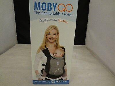 NEW in the Box - Moby Go Baby Carrier Gray (FREE SHIPPING!!!)