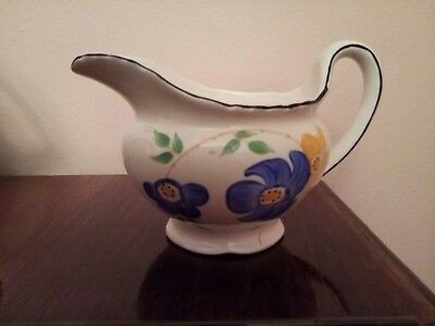 1930's Hand painted CWS Pottery jug