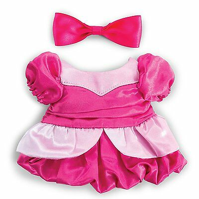 Spinmaster Build A Bear Accessory Pack Pink Dress And Bow Fancy Fashion New