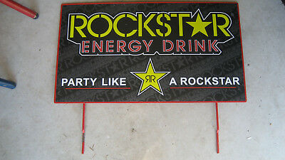 RockStar Energy Drink  Advertising Sign Man Cave